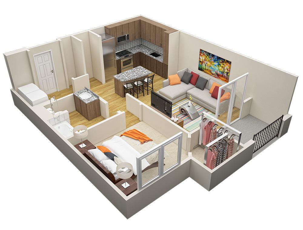 Floor Plans Marisol